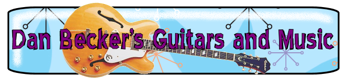 Dan Becker's Music and Guitars Site